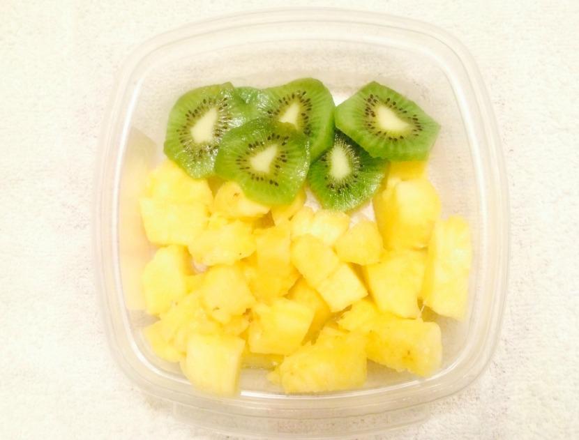 piña kiwi snack