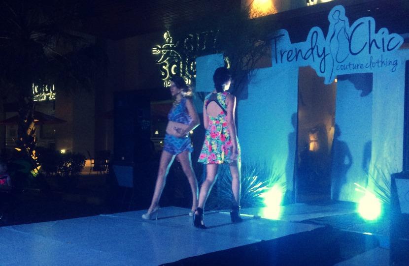 trendy and chic ciudad obregon desfile primavera verano 2015 vestido flores